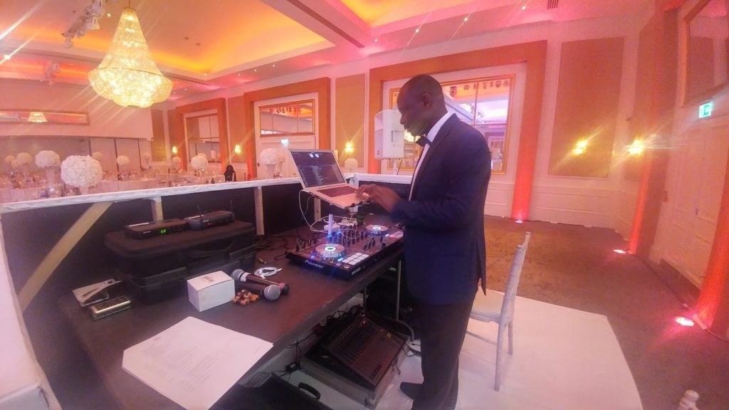DJ Paddy at wedding